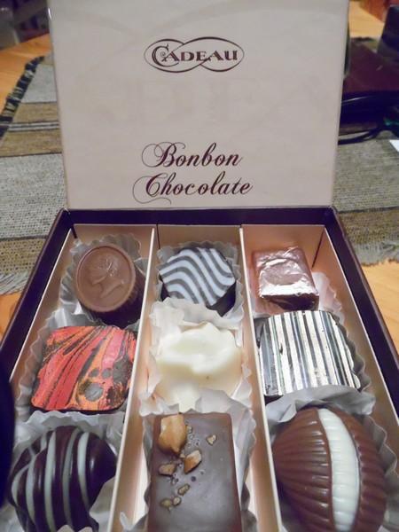 Dobozgyártás Csokoládés doboz
